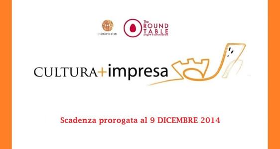 Premio CULTURA+IMPRESA 2014