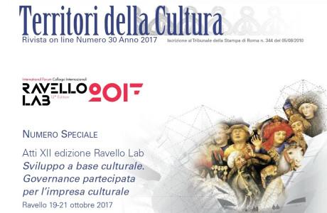 Territori della Cultura. Speciale Ravello LAB 2017