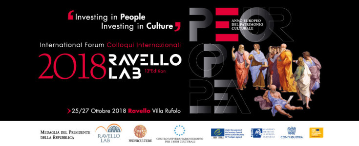 RAVELLO LAB 2018. INVESTING IN PEOPLE INVESTING IN CULTURE