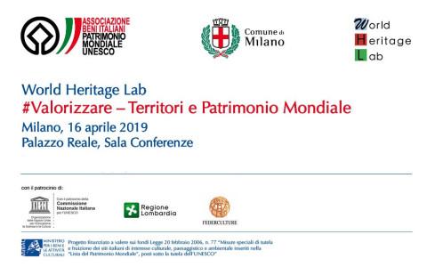 """World Heritage Lab – """"#Valorizzare – Territori e Patrimonio Mondiale"""""""