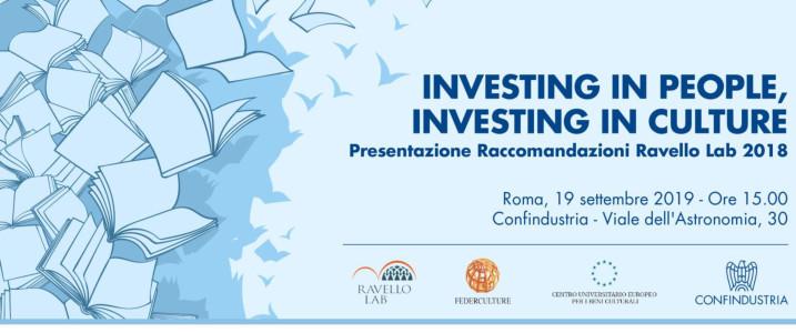 """Ravello Lab, presentazione delle """"Raccomandazioni"""" 2018"""