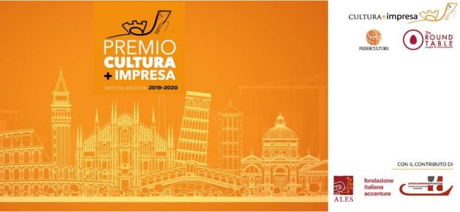 PREMIO CULTURA+IMPRESA SETTIMA EDIZIONE 2019-2020
