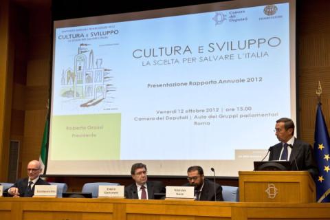 Presentaz. Rapp. Annuale Cam. Deputati - Roma  2012