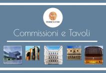 Commissioni e tavoli