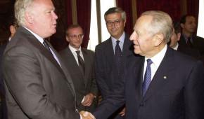 Barracco Ciampi Grossi - Presidenza Repubblica 2001