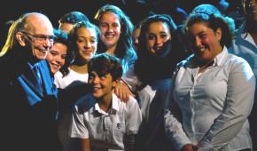 Abreu e studenti al Ravello Festival 2012