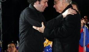 Maestri Abreu e Dudamel
