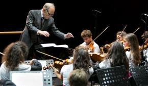 Maestro Morricone con la Futurorchestra Auditorium (Rm)
