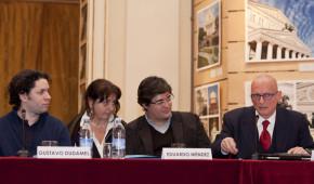 Presentaz del Sistema a Milano col Maestro Dudamel