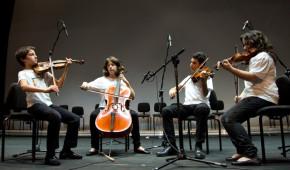 Quartetto La Fenice Scuola Musica di Fiesole - Auditorium (Rm)