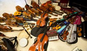 Raccolta strumenti musicali di Roma