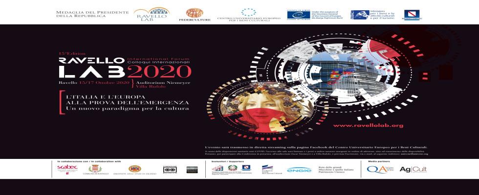 RAVELLO LAB 2020 – L'ITALIA E L'EUROPA ALLA PROVA DELL'EMERGENZA