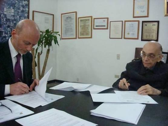 Grossi e Abreu firmano la Convenzione